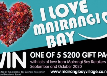 Win with I Love Mairangi Bay!